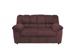 Ashley Julson Burgundy Loveseat Available Online in Dallas Fort Worth Texas