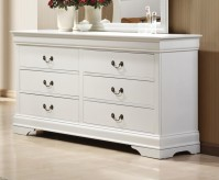 Louis Philippe White Dresser Available Online in Dallas Fort Worth Texas