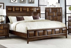 Porter Warm Walnut King Bed Available Online in Dallas Fort Worth Texas