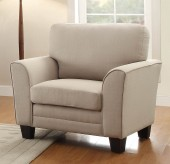 Homelegance Adair Beige Chair Available Online in Dallas Fort Worth Texas