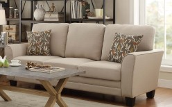Homelegance Adair Beige Sofa Available Online in Dallas Fort Worth Texas