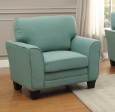 Homelegance Adair Teal Chair Available Online in Dallas Fort Worth Texas