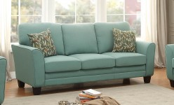 Homelegance Adair Teal Sofa Available Online in Dallas Fort Worth Texas