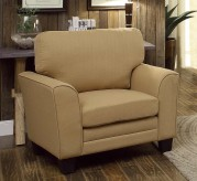Homelegance Adair Yellow Chair Available Online in Dallas Fort Worth Texas