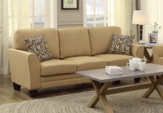 Homelegance Adair Yellow Sofa Available Online in Dallas Fort Worth Texas