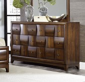 Porter Warm Walnut Dresser Available Online in Dallas Fort Worth Texas
