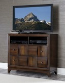 Porter Warm Walnut Media Chest Available Online in Dallas Fort Worth Texas