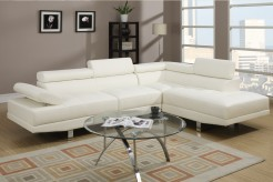 Updated Creed White Sectional Available Online in Dallas Fort Worth Texas
