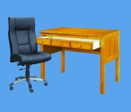 Honey Pine Student Desk Available Online in Dallas Fort Worth Texas