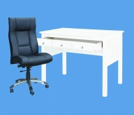White Study Desk Available Online in Dallas Fort Worth Texas
