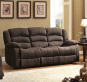 Greenville Brown Reclining Sofa Available Online in Dallas Fort Worth Texas