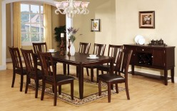 FOA Furniture Of America Edgewood Dining Table Available Online in Dallas Fort Worth Texas