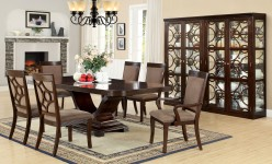 FOA Furniture Of America Woodmont Dining Table Available Online in Dallas Fort Worth Texas