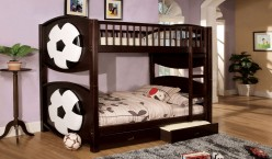 FOA Furniture Of America Soccer Twin/Twin Bunk Bed Available Online in Dallas Fort Worth Texas