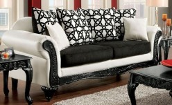 FOA Furniture Of America Dolphy Sofa Available Online in Dallas Fort Worth Texas