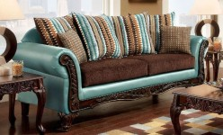 FOA Furniture Of America Mulligan Sofa Available Online in Dallas Fort Worth Texas