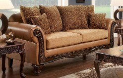 FOA Furniture Of America Tatum Sofa Available Online in Dallas Fort Worth Texas