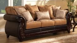 FOA Furniture Of America Frankford Sofa Available Online in Dallas Fort Worth Texas