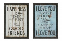 Coaster Happiness Wall Art Available Online in Dallas Fort Worth Texas