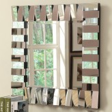 Coaster Layered Panel Mirror Available Online in Dallas Fort Worth Texas