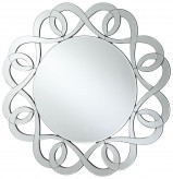Coaster Accent Mirrors Round Frameless Mirror Available Online in Dallas Fort Worth Texas