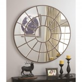 Coaster Accent Mirror Circular Mirror Available Online in Dallas Fort Worth Texas