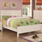 Coaster Ashton White Twin Bed Available Online in Dallas Fort Worth Texas