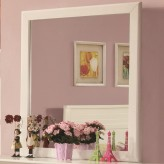 Coaster Ashton White Mirror Available Online in Dallas Fort Worth Texas
