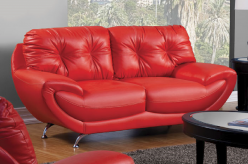 Volos Red Loveseat Available Online in Dallas Fort Worth Texas