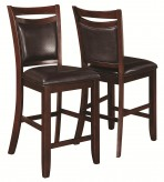Coaster Dupree Brown Counter Height Chair Available Online in Dallas Fort Worth Texas