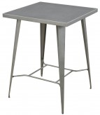 Coaster Sawatt Light Gunmetal Counter Height Bar Table Available Online in Dallas Fort Worth Texas