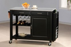 Coaster Kitchen Carts Black Kit... Available Online in Dallas Fort Worth Texas
