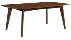 Coaster Malone Dark Walnut Dining Table Available Online in Dallas Fort Worth Texas