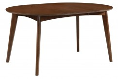 Coaster Malone Dark Walnut Oval Dining Table Available Online in Dallas Fort Worth Texas
