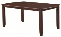 Coaster Dupree Brown Extendable Dining Table Available Online in Dallas Fort Worth Texas