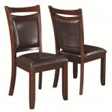 Coaster Dupree Brown Side Chair Available Online in Dallas Fort Worth Texas