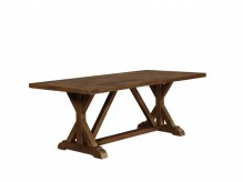 Coaster Bridgeport Weathered Acacia  Dining Table Available Online in Dallas Fort Worth Texas