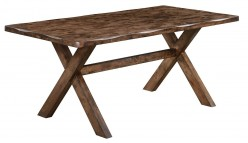 Coaster Alston Knotty Nutmeg Dining Table Available Online in Dallas Fort Worth Texas