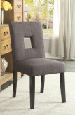 Coaster Andenne Grey Side Chair Available Online in Dallas Fort Worth Texas
