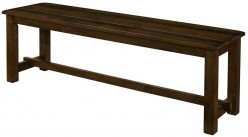 Coaster Wiltshire Rustic Pecan Bench Available Online in Dallas Fort Worth Texas