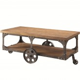 Coaster Damaan Brown Coffee Table Available Online in Dallas Fort Worth Texas