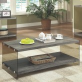 Coaster Salbind Grey Coffee Table Available Online in Dallas Fort Worth Texas