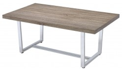Coaster Marten Weathered Taupe Coffee Table Available Online in Dallas Fort Worth Texas