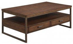 Coaster Sabool Brown Coffee Table Available Online in Dallas Fort Worth Texas
