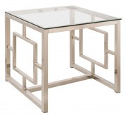 Coaster Sambal Nickel End Table Available Online in Dallas Fort Worth Texas