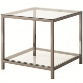 Coaster Sawaa Nickel End Table Available Online in Dallas Fort Worth Texas