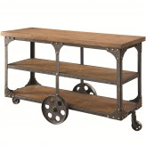 Coaster Damaan Brown Sofa Table Available Online in Dallas Fort Worth Texas