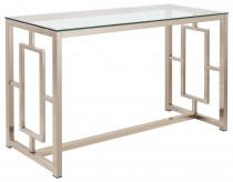 Coaster Sambal Nickel Sofa Table Available Online in Dallas Fort Worth Texas