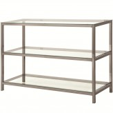 Coaster Sawaa Nickel Sofa Table Available Online in Dallas Fort Worth Texas