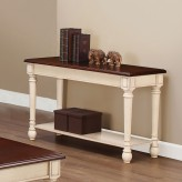 Coaster Sawell Two-Toned Sofa Table Available Online in Dallas Fort Worth Texas